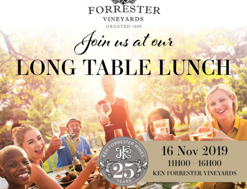 Ken Forrester Long Table Lunch